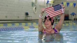 Rehabilitating veterans through swimming