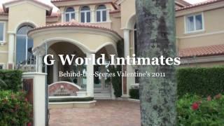 G World Behind-The-Scenes Photoshoot Valentine's 2011