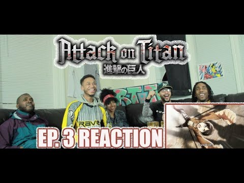 THERE'S HOPE! ATTACK ON TITAN EP. 3 REACTIONREVIEW