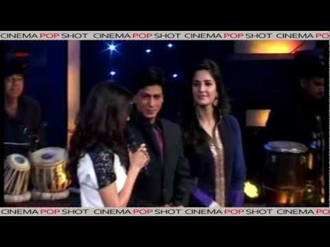 Shahrukh Khan, Katrina Kaif, Anushka on the sets of sa re ga ma pa
