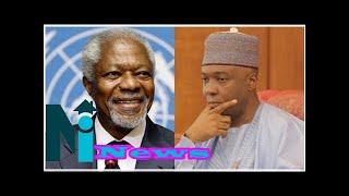 Late Kofi Annan was God's messenger of peace to the world - Saraki mourns