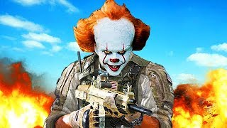 PENNYWISE CREEPS OUT PLAYERS ON CALL OF DUTY! (Voice Trolling 'IT' Pennywise)