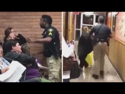 Xxx Mp4 Teacher Forcibly Removed Arrested At School Board Meeting 3gp Sex