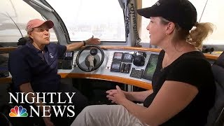 'Impossible Dream' Catamaran Gives Those With Disabilities A Chance To Sail   NBC Nightly News