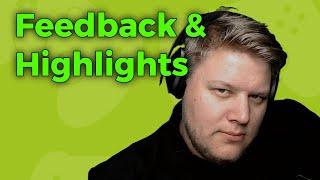 Feedback & Highlights  vom 15.10.-21.10 -