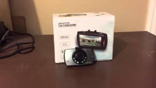 "Product review: HDMI Car dvr 2.7"" HD Full hd 1080P Car Camera Dash Cam"