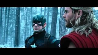 Avengers Age of Ultron ITA - Captain America - Thor  scena HD