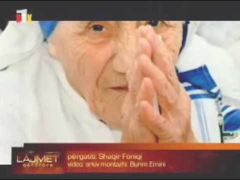 Regjistrime zanore shqip të Nënë Terezës