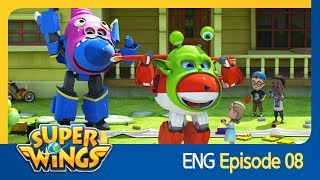 [Super Wings] EP 08 - Lights, Camera, Action! (ENG)