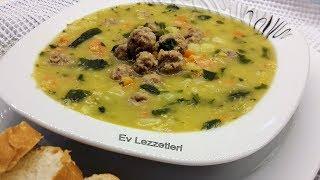 Süleymaniye çorbası tarifi - İftar için lezzetli ve doyurucu köfteli çorba tarifi - Ev Lezzetleri