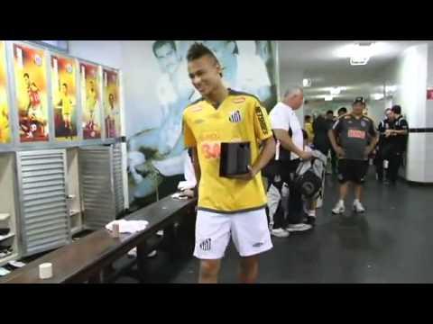 Neymar dança ai se eu te pego ai ai se eu te pego Santos Futebol Clube Site Oficial