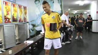 """Neymar dança """"ai se eu te pego, ai ai se eu te pego"""" Santos Futebol Clube - Site Oficial"""
