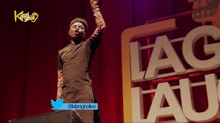 Kenny blaq Comedy On Shaku Shaku | Ushbebe | At Lagos Laughs 2.0