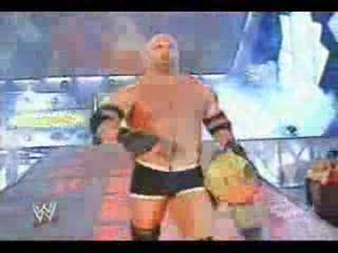 WWE Evolution vs Goldberg part 1 of 2