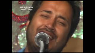 Saleem Balrampuri At Jashn-e-Zehra Machligaon 2013-2014