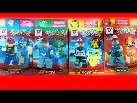 Lego Pokemon Dargo Bootleg No 860 Review