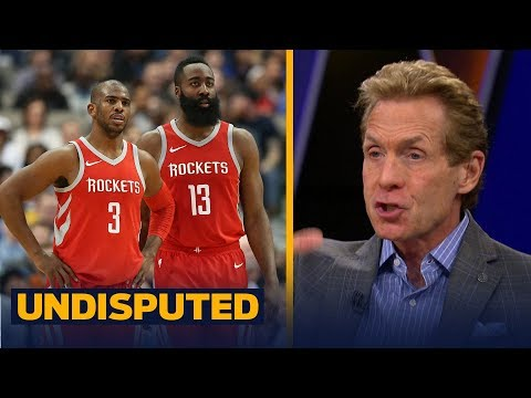 Skip Bayless on Houston defeating Portland not buying Rockets as title contenders UNDISPUTED
