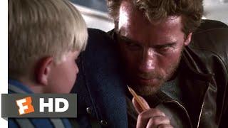 Kindergarten Cop (1990) - Kids on the Plane Scene (2/10) | Movieclips
