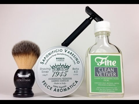 SOTD with Saponificio Varesino, Muhle Jet, Plisson, Fine Clean Vetiver
