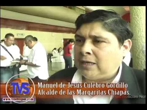 TVS Chiapas. Presidente municipal de las margaritas reafirma que cumplirá su compromiso de campaña.