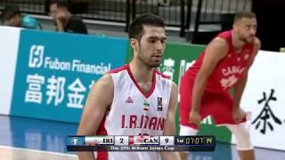 3D Global Sports Canada vs Iran (39th William Jones Cup)