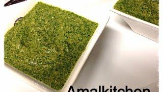 Afghan coriander chutney recipe By Amalkitchen