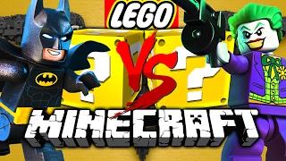 Minecraft: LEGO BATMAN LUCKY BLOCK CHALLENGE | HENCHMAN HIRING!