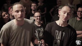 Falk & Khacoby vs O.G.OhneGummi & Eric Ventura // DLTLLY RapBattle (Day 1/2 // Paderborn) // 2016