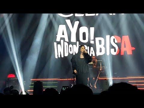 Gita Gutawa - Mau Tapi Malu || Konser Ayo! Indonesia Bisa