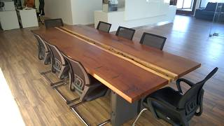 WOODMAN: Industrial meeting table  - 2.
