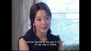 [ENG SUB] 2005 Kim Hee Seon interview + BTS of The Myth with Jackie Chan