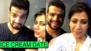 Karan Patel Dinner Date with Wife Ankita Bhargava | TellyMasala