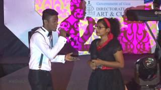 Anson Gomes and Wilma Dias  (3rd prize)