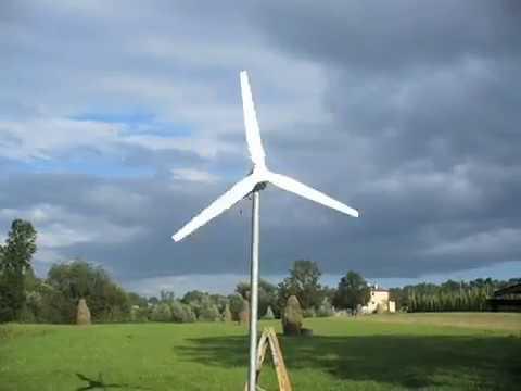 elektrownia wiatrowa z silnika od pralki