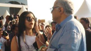 Boney Kapoor PUBLICLY SHOUTS at daughter Khushi Kapoor | Video