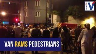 London van incident