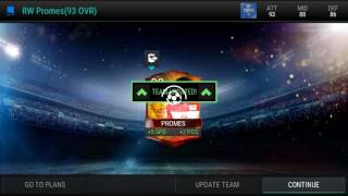 Completed Promes RW 94 OVR +Free 140k coins! - FiFa Mobile