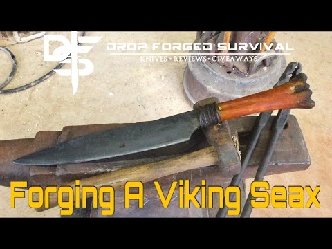 BlackSmithing - Forging a Viking Seax