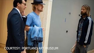 Spil the Tea: Owen Wilson hanging out in Portland
