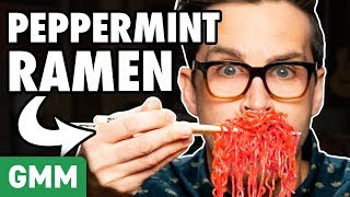 Crazy Peppermint Foods Taste Test