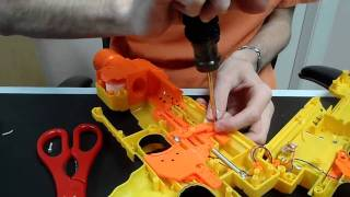 How To: The ULTIMATE Nerf Barricade Mod Tutorial (Lock Removal and Size Reduction)