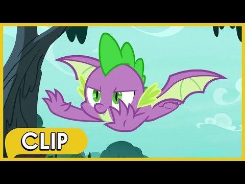 Spike Gets Wings MLP Friendship Is Magic Season 8
