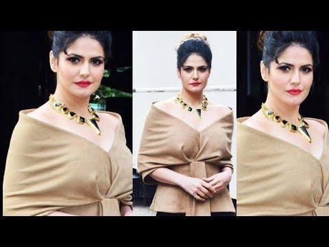 Zareen Khan HOT Aksar 2 Promotion In Comedy Dangal