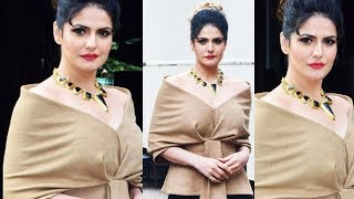 Zareen Khan At Aksar 2 Promotion In Comedy Dangal