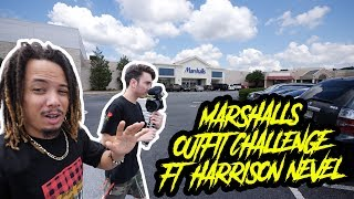 THE $50 MARSHALLS OUTFIT CHALLENGE FT. HARRISON NEVEL !!!