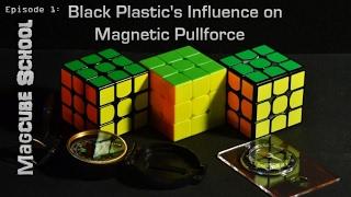 Magcube School Science: Black Plastic