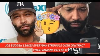 Joe Budden LEAVES EVERYDAY STRUGGLE Charlamagne WAS RIGHT Said it Would Last 6 Months