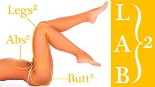 B.B.G. Training (Beine, Bauchmuskeln und Gesäß) - Niveau 2