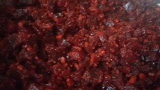 Beetroot poriyal recipe in tamil (AathuSamayal)/beetroot fry/beetroot recipes/eng description