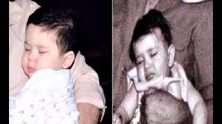 Taimur Ali Khan And Kareena Kapoor Sleeping Picture - Like Mother Like Son